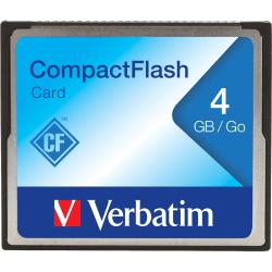 Verbatim 4GB CompactFlash Memory Card - 1 Card/1 Pack
