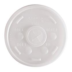 Dart® Plastic Cold Cup Lids, 10 Oz, Pack Of 1,000 Lids