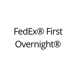 FedEx® First Overnight® Shipping