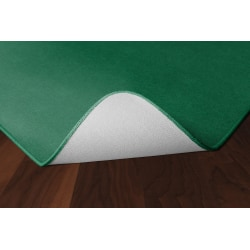 Flagship Carpets Americolors Rug, Square, 12' x 12', Clover Green