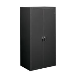 "HON® Brigade Steel Storage Cabinet, 5 Adjustable Shelves, 71 3/4""H x 36""W x 24 1/4""D, Charcoal"