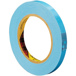 """Scotch® 8896 Strapping Tape, 3"""" Core, 0.5"""" x 60 Yd., Blue, Case Of 72"""