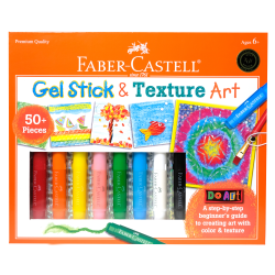 Faber-Castell Do Art Gel Stick & Texture Art Set