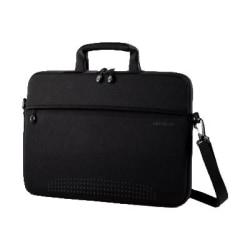 "Samsonite Aramon NXT 43327-1041 Carrying Case for 13"" Notebook - Black - Neoprene - Handle, Shoulder Strap - 9.3"" Height x 13.3"" Width x 1"" Depth"