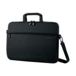 "Samsonite Aramon NXT Carrying Case for 17"" Notebook - Black - Neoprene - Handle, Shoulder Strap - 15.9"" Height x 17.3"" Width x 1"" Depth - 1 Pack"