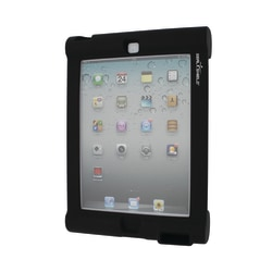 Seal Shield™ Bumper Case With Megaphone For Apple® iPad® 2/3, Black
