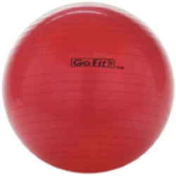 GoFit Exercise Ball With Pump, 55 cm, Red
