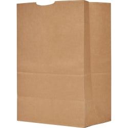 "The Bag Company General Grocery Kraft Paper Bags, 17"" x 12"" x 7"", Brown, Bundle Of 500 Bags"