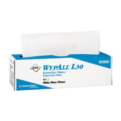 WYPALL L30 Wipers, 9 4/5 x 16 2/5, 100/Box, 8/Carton