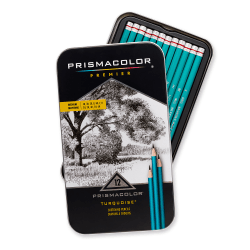 Prismacolor® Turquoise Sketch Pencil Set, Pack Of 12
