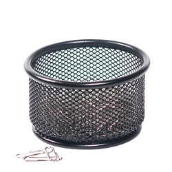 Brenton Studio® Black Mesh Paper Clip Holder