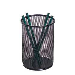 Brenton Studio® Black Mesh Jumbo Pencil Holder