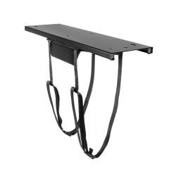 """Mount-It! MI-7154 Under Desk CPU Mount With Adjustable Straps, 20""""H x 8""""W x 3""""D, Black"""
