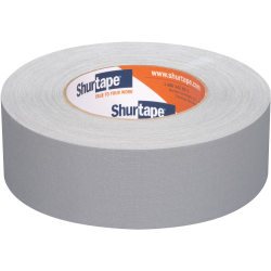Shurtape P- 628 Professional Grade Coated Gaffer's Tape, 1.88 in. x 54 yd., Gray