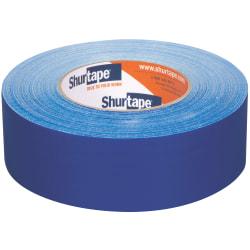 "Shurtape PC 618C Cloth Duct Tape, 1-7/8"" x 60 Yd, Blue"