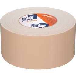 Shurtape PC 618C Performance Grade, Colored Cloth Duct Tape, 2.83 in x 60 yd., Beige