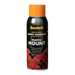 3M™ Photo Mount Adhesive Spray, 10.25 Oz.