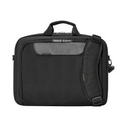 """Everki Advance Laptop Bag Briefcase For 17.3"""" Laptops, Black"""
