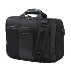 "Everki Versa Premium Checkpoint Friendly Laptop Bag Briefcase For 17.3"" Laptops, Black"