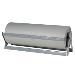 """Office Depot® Brand Bogus Kraft Paper Roll, 48"""" x 720', 100% Recycled, Gray"""