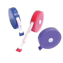 "Baumgartens® Tape Measures, 2"" x 2"", Pack Of 12"