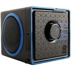 GOgroove SonaVERSE GGSVBX0110BKUS Portable Speaker System - 6 W RMS - Black - 80 Hz to 20 kHz - Battery Rechargeable - USB