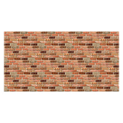 "Fadeless Reclaimed Brick Design Paper, 48"" x 50', Multicolor"