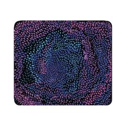 """OTM Essentials Mouse Pad, Petals Cool, 10"""" x 9.13"""", Black, 1BM-ART01-25"""