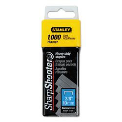 "Bostitch SharpShooter Heavy Duty Staples, 3/8"", Box Of 1,000"