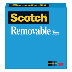 "Scotch® Magic™ 811 Removable Tape, 3/4"" x 1296"", Clear"