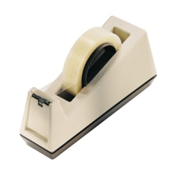 """Scotch® Tabletop Tape Dispenser, 3"""" Core, Beige"""