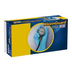 Kimberly-Clark® KleenGuard G10 Nitrile Gloves, Large, Blue, Box Of 100