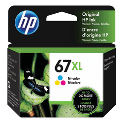 HP 67XL High Yield Tri-Color Original Ink Cartridge (3YM58AN)