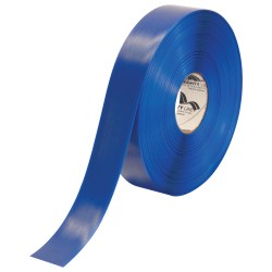 """Mighty Line™ Deluxe Safety Tape, 2"""" x 100', Blue"""