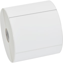 "Zebra Label Paper, U82592, 4"" x 3"" Direct Thermal Zebra Z™Perform 2000D, 1"" Core"