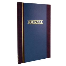 """Account Book, Record, 11 3/4"""" x 7 1/4"""", 150 Pages"""