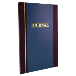 """Account Book, Record, 11 3/4"""" x 7 1/4"""", 300 Pages"""
