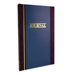 "Account Book, Journal, 11 3/4"" x 7 1/4"", 300 Pages"