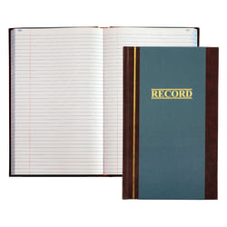 """Account Book, Record, 11 3/4"""" x 7 1/4"""", 500 Pages"""
