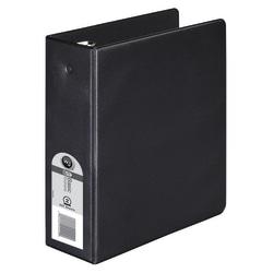 "Wilson Jones® 368 Basic Mini 3-Ring Binder, 2"" Round Rings, Black"