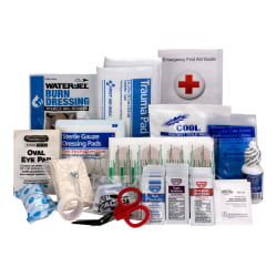 First Aid Only 90560/90562/90588 25-Person First Aid Kit Refill, 89 Pieces