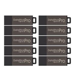 Centon DataStick Pro USB 2.0 Flash Drive, 8GB, Pack Of 10