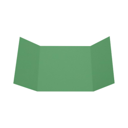"LUX Gatefold Invitation Envelopes, 6 1/4"" x 6 1/4"", Holiday Green, Pack Of 500"