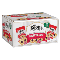 Knott's Berry Farm® Raspberry Cookies, 2 Oz , Box Of 36
