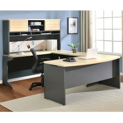Ameriwood™ Home Collection U-Configuration Desk, Maple