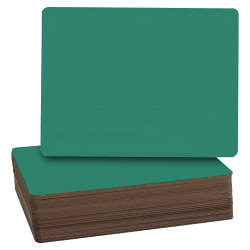 "Flipside Green Chalk Board Class Pack, 9 1/2"" x 12"", Green, Pack Of 24"