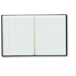 "Blueline® Executive Notebook, 9 1/4"" x 7 1/4"", College Ruled, 150 Pages, Black"