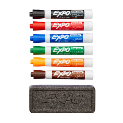 EXPO® Low-Odor Dry-Erase Organizer Kit, Pack Of 7