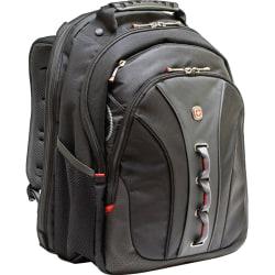"""Wenger® Legacy Backpack With 16"""" Laptop Pocket, Black"""
