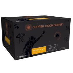 Copper Moon® Coffee, Donut Café, Carton Of 80 Pods